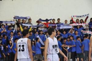 Pemain basket SMAN 16 Sby dan Sporter Sixteen