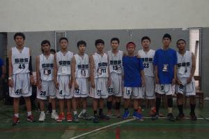 Pemain Basket SMAN 16 Sby