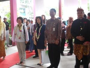 Delegasi Pendidikan dari Korea bersama Kepala Sekolah Bapak Drs. Sudarminto,M.Pd