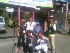 Mahasiswa Korea Sedang PPL di SMAN 16 Surabaya